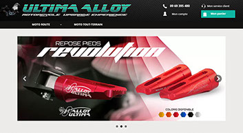 site ecommerce ultima alloy